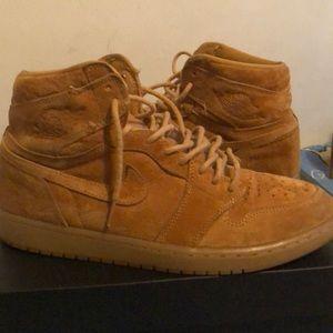 Jordan 1 Retro High Wheat!!!